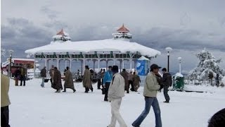 SNOWFALL IN SHIMLA  JANUARY SHOT BY OUR TRIP.
