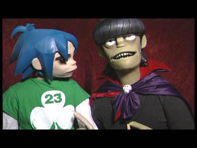 Gorillaz - 2D & Murdoc In New York (HD)