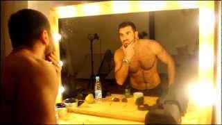 BACKSTAGE ( video: Sergey Tilov, model: Niko Antinyan)
