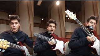 John Mayer Gives Blues Guitar Lessons to his fans | Instagram Live Stream |16 March 2018