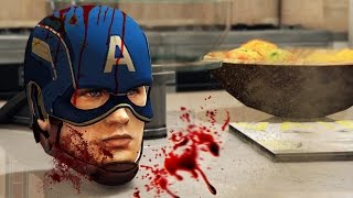 The DEATH OF CAPTAIN AMERICA! | GTA 5