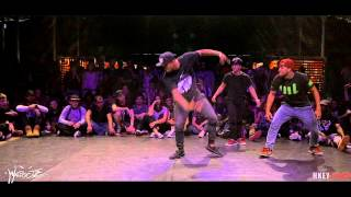 IIB 2015 100% KRUMP /  FINAL GUYZ :   KONKRETE vs BABY EYEZ vs SPARTAN   by  HKEYFILMS