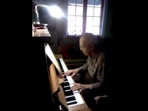 My almost 91yr old Grandpa playing piano