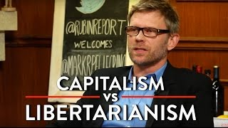 Capitalism vs Libertarianism, and the Role of Religion in Government (Mark Pellegrino Interview)