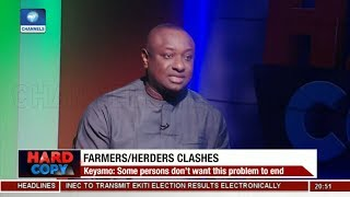 I'm Performing A Patriotic Duty, Not Working For Govt - keyamo | Hard Copy |
