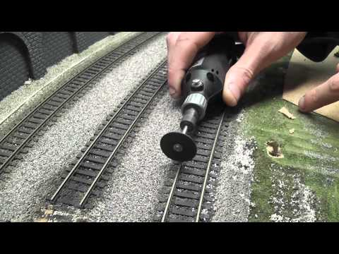 Building a Model Railway Part 3 Track Laying