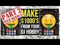 CREATE A WIX DJ WEBSITE - MAKE $1000's FROM DJING (PART 2)