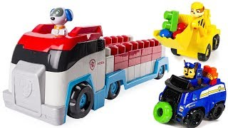 Learn Colors with Paw Patrol Ionix Paw Patroller Lego Mega Blocks | Fizzy Fun Toys