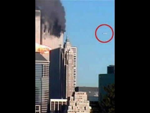 Paranormal Da miedo ovni identificado en vídeo de las torres gemelas en el min 1.28