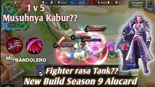 Tutorial Gameplay Alucard Tanpa Mati!! - Best Build Season 9 Mobile Legends!!