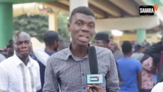Chronicle Of Gov. Ajimobi Megalomaniac Public Gaffes And Protesting Students