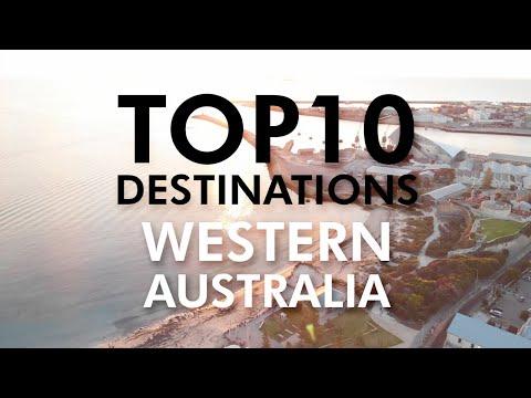 TOP 10 Beautiful Destinations Perth Western Australia