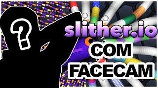 SLITHER.IO COM FACECAM!