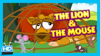 """""""The Lion and The Mouse"""" Story   Bedtime Story"""