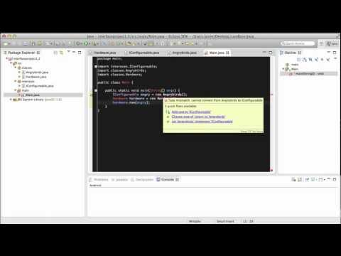 Software Design: Java Tutorial:1.2-interfaces:hardware-software-example