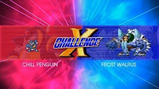 Mega Man X Legacy Collection - ENGLISH X Challenge Gameplay + Ending of the Battle