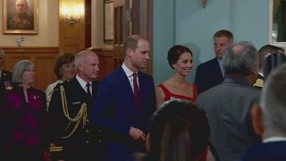 Duchess of Cambridge stuns in red at historic ceremony in Canada