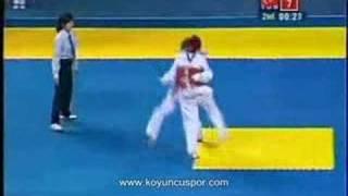 68kg Final Servet Tazegul (TUR) vs (MEX) Erick Osornio (2008 Good Luck Beijing)