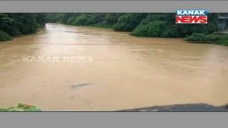 Water Level Heading Towards Danger Mark In Jalaka River In Balasore