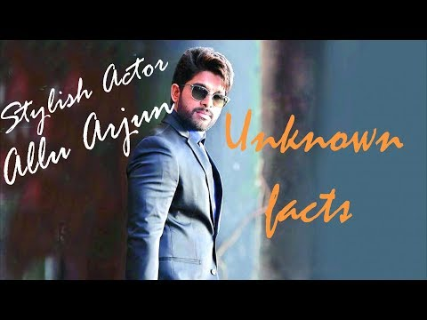 Lets know about Allu Arjun | Unknown facts | Saahil Chandel