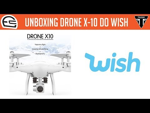 Xxx Mp4 EnC Unboxing Do Drone X 10 A Venda No Wish Demorou Mas Chegou 3gp Sex