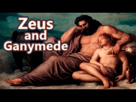 Xxx Mp4 Zeus And Ganymede The Cup Bearer Of The Gods Greek Mythology See U In History 3gp Sex