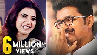 Samantha Marriage Meme - Vijay Laughs | Audience Laughs Louder!
