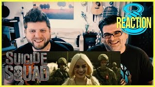 SUICIDE SQUAD Official TRAILER #2 2016 REACTION and REVIEW
