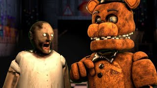 How To Make SLENDRINA GRANNY NOT SCARY FEAT WITHERED FREDDY