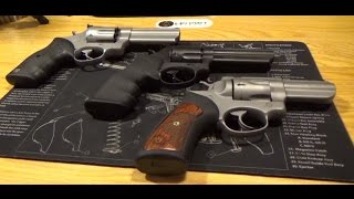 Taurus vs Ruger vs Smith and Wesson 357 Magnum
