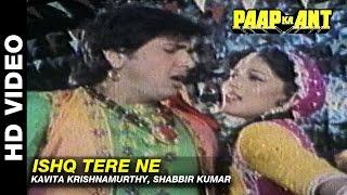 Ishq Tere Ne - Paap Ka Ant | Kavita Krishnamurthy, Shabir Kumar | Govinda & Madhuri Dixit