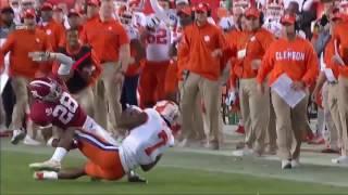 #1 Alabama vs  #2 Clemson    2017 College Football National Championship Highlights ᴴᴰ