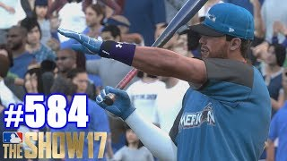 HOME RUN DERBY AS A YANKEE! | MLB The Show 17 | Road to the Show #584