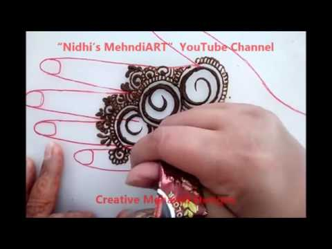 Xxx Mp4 SabWap CoM New Circular Gulf Style Henna Mehndi Design Tutorial 3gp Sex