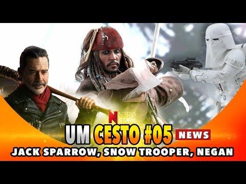 Um Cesto News 05 Jack Sparrow Snow Trooper Negan