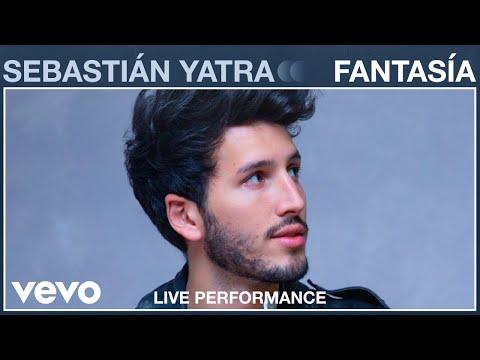 Sebastián Yatra Fantasía Live Performance Vevo Live