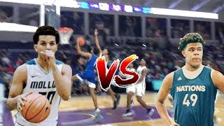 Who Is The BEST PLAYER In The 2019 Class? Cole Anthony VS Vernon Carey At CITY OF PALMS!