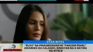 'Bliss' na pinagbidahan ni 'Yakushi Pearl' awardee Iza Calzado, binigyan ng x-rating ng MTRCB