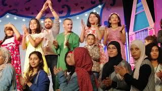 مسرحية حكاية روح مع طلبة دراما جامعه عين شمس