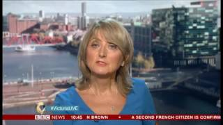 Victoria Derbyshire 07/07/2017 - Supporting HPV vaccination to protect boys from developing cancer