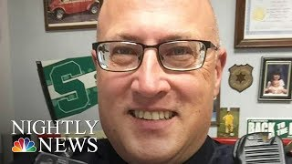 Officer Stabbed At Airport; Investigators Look At Terror As Possible Motive | NBC Nightly News