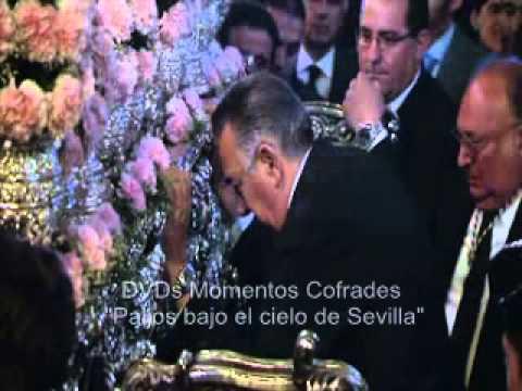 Rafael Diaz Palacios llamando al martillo de Ntra Sra del Patrocinio