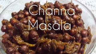 HOW TO MAKE DRY CHANNA MASALA