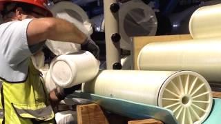 RO Membrane Install July 2015