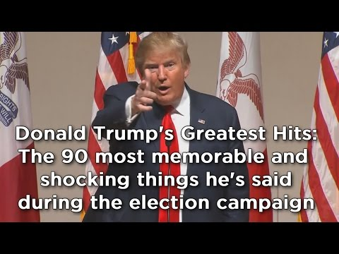 Donald Trump compilation: The 90 most