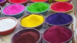 Rangoli Colours Mixing Techniques