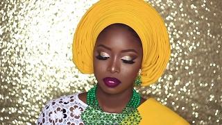 NIGERIAN BRIDAL INSPIRATION: YORUBA BRIDE/GELE TUTORIAL