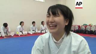 Karate kids vying to represent Japan at 2020 Olympics