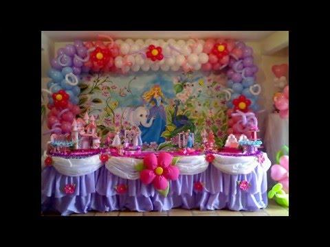 decoração infantil Barbie da ilha Suzy Festa Decoraçao