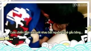vietsub tfboys  hu trng ghi hnh cc k vui nhn show crazy magic part 2